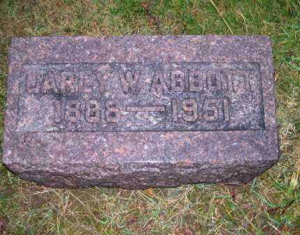 ABBOTT, CAREY W. - Adams County, Ohio | CAREY W. ABBOTT - Ohio Gravestone Photos
