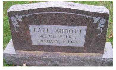 ABBOTT, EARL - Adams County, Ohio | EARL ABBOTT - Ohio Gravestone Photos