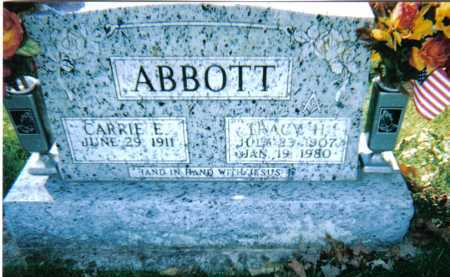 ABBOTT, CARRIE E. - Adams County, Ohio | CARRIE E. ABBOTT - Ohio Gravestone Photos