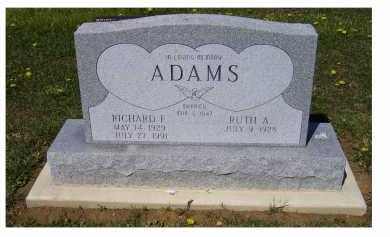 ADAMS, RUTH A. - Adams County, Ohio | RUTH A. ADAMS - Ohio Gravestone Photos