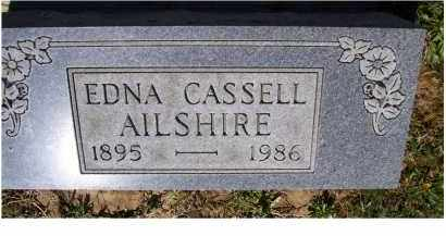 AILSHIRE, EDNA - Adams County, Ohio | EDNA AILSHIRE - Ohio Gravestone Photos