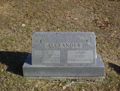 ALEXANDER, NOLINE - Adams County, Ohio | NOLINE ALEXANDER - Ohio Gravestone Photos