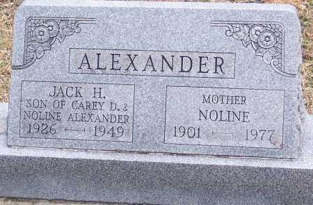ALEXANDER, JACK - Adams County, Ohio | JACK ALEXANDER - Ohio Gravestone Photos