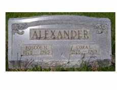 ALEXANDER, CORA L. - Adams County, Ohio | CORA L. ALEXANDER - Ohio Gravestone Photos
