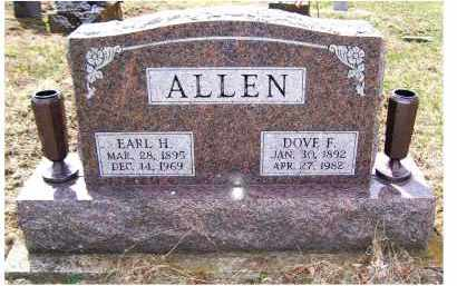 ALLEN, DOVE F. - Adams County, Ohio | DOVE F. ALLEN - Ohio Gravestone Photos