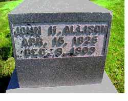 ALLISON, JOHN H. - Adams County, Ohio | JOHN H. ALLISON - Ohio Gravestone Photos
