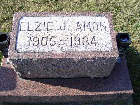 AMON, ELZIE J. - Adams County, Ohio | ELZIE J. AMON - Ohio Gravestone Photos