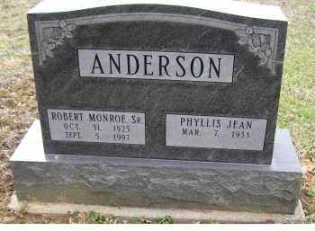 ANDERSON, ROBERT MONROE SR. - Adams County, Ohio | ROBERT MONROE SR. ANDERSON - Ohio Gravestone Photos