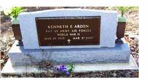 ARDEN, KENNETH - Adams County, Ohio | KENNETH ARDEN - Ohio Gravestone Photos