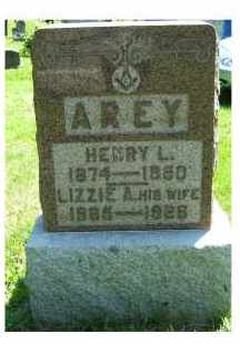 AREY, HENRY L. - Adams County, Ohio | HENRY L. AREY - Ohio Gravestone Photos