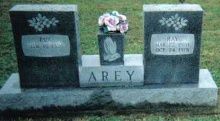 AREY, EVA - Adams County, Ohio | EVA AREY - Ohio Gravestone Photos