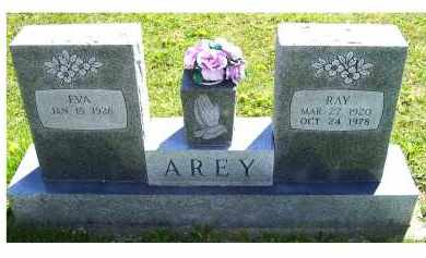 AREY, RAY - Adams County, Ohio | RAY AREY - Ohio Gravestone Photos