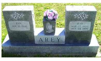 AREY, EVA - Adams County, Ohio | EVA AREY - Ohio Gravestone Photos