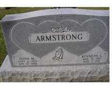 ARMSTRONG, NONA M. - Adams County, Ohio | NONA M. ARMSTRONG - Ohio Gravestone Photos