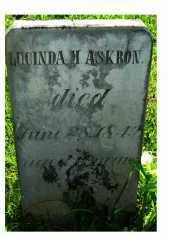 ASKRON, LUCINDA M. - Adams County, Ohio | LUCINDA M. ASKRON - Ohio Gravestone Photos