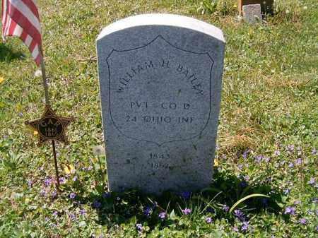 BAILEY, WILLIAM  H - Adams County, Ohio | WILLIAM  H BAILEY - Ohio Gravestone Photos