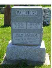 BALDRIDGE, REBECCA - Adams County, Ohio | REBECCA BALDRIDGE - Ohio Gravestone Photos