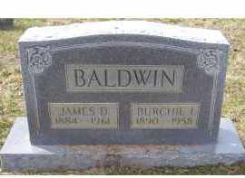 BALDWIN, BURCHIE I. - Adams County, Ohio | BURCHIE I. BALDWIN - Ohio Gravestone Photos