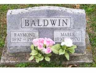 BALDWIN, RAYMOND - Adams County, Ohio | RAYMOND BALDWIN - Ohio Gravestone Photos