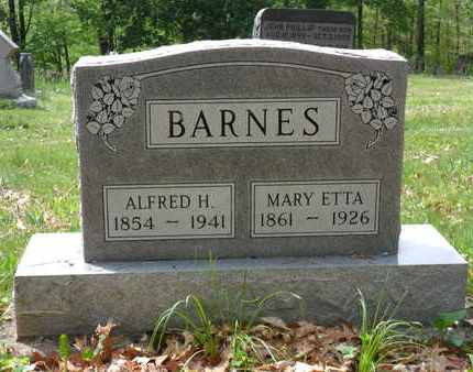 BARNES, ALFRED HAMER - Adams County, Ohio | ALFRED HAMER BARNES - Ohio Gravestone Photos