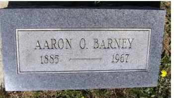 BARNEY, AARON O. - Adams County, Ohio | AARON O. BARNEY - Ohio Gravestone Photos
