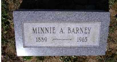 BARNEY, MINNIE A. - Adams County, Ohio | MINNIE A. BARNEY - Ohio Gravestone Photos