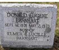 BARNHART, DONALD EUGENE - Adams County, Ohio | DONALD EUGENE BARNHART - Ohio Gravestone Photos