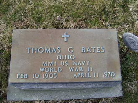 BATES, THOMAS G. - Adams County, Ohio | THOMAS G. BATES - Ohio Gravestone Photos
