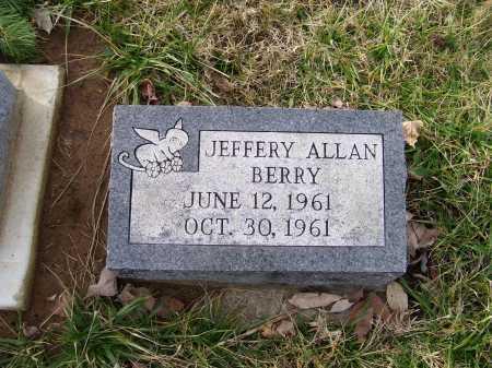 BERRY, JEFFREY ALLAN - Adams County, Ohio | JEFFREY ALLAN BERRY - Ohio Gravestone Photos