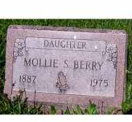BERRY, MOLLIE S. - Adams County, Ohio | MOLLIE S. BERRY - Ohio Gravestone Photos