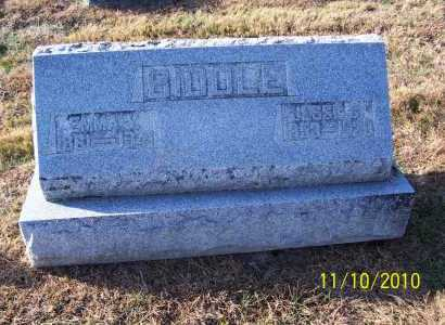 BIDDLE, EMMA - Adams County, Ohio | EMMA BIDDLE - Ohio Gravestone Photos