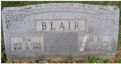 BLAIR, TOM - Adams County, Ohio | TOM BLAIR - Ohio Gravestone Photos