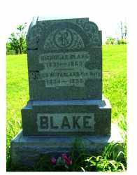 MCFARLAND BLAKE, ESTHER - Adams County, Ohio | ESTHER MCFARLAND BLAKE - Ohio Gravestone Photos
