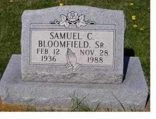 BLOOMFIELD, SAMUEL C. SR. - Adams County, Ohio | SAMUEL C. SR. BLOOMFIELD - Ohio Gravestone Photos