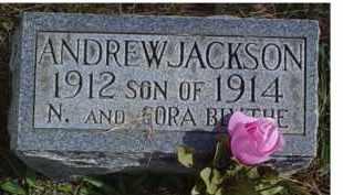 BLYTHE, ANDREW JACKSON - Adams County, Ohio | ANDREW JACKSON BLYTHE - Ohio Gravestone Photos