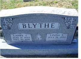 BLYTHE, LARRY E. - Adams County, Ohio | LARRY E. BLYTHE - Ohio Gravestone Photos
