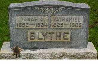 BLYTHE, SARAH A. - Adams County, Ohio | SARAH A. BLYTHE - Ohio Gravestone Photos