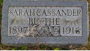 CASSANDER BLYTHE, SARAH - Adams County, Ohio | SARAH CASSANDER BLYTHE - Ohio Gravestone Photos