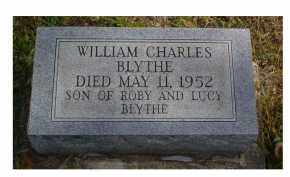 BLYTHE, WILLIAM CHARLES - Adams County, Ohio | WILLIAM CHARLES BLYTHE - Ohio Gravestone Photos