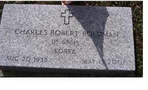 BOLDMAN, CHARLES ROBERT - Adams County, Ohio | CHARLES ROBERT BOLDMAN - Ohio Gravestone Photos
