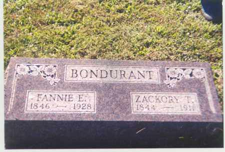 BONDURANT, ZACKORY - Adams County, Ohio | ZACKORY BONDURANT - Ohio Gravestone Photos
