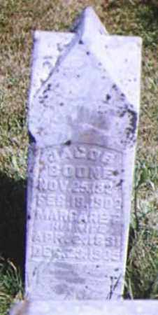 BOONE, MARGARET - Adams County, Ohio | MARGARET BOONE - Ohio Gravestone Photos