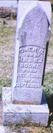 BOONE, OMER C. - Adams County, Ohio | OMER C. BOONE - Ohio Gravestone Photos