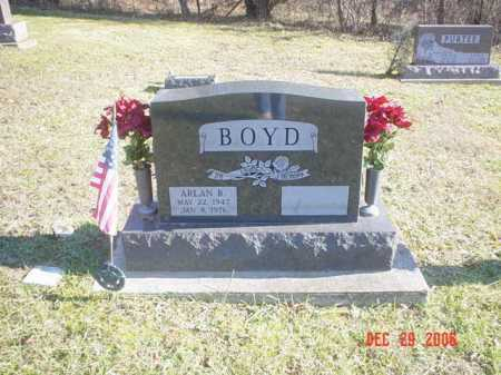 BOYD, ARLAN R. - Adams County, Ohio | ARLAN R. BOYD - Ohio Gravestone Photos