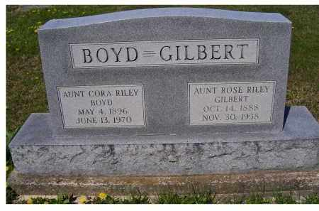 BOYD, CORA RILEY - Adams County, Ohio | CORA RILEY BOYD - Ohio Gravestone Photos