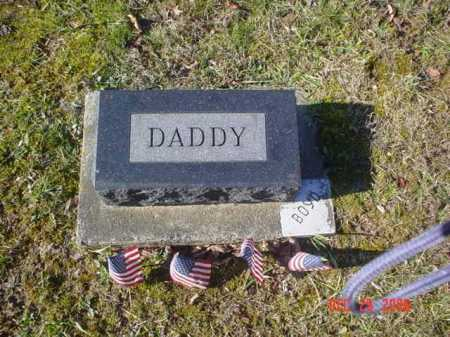 BOYD, DADDY - Adams County, Ohio | DADDY BOYD - Ohio Gravestone Photos