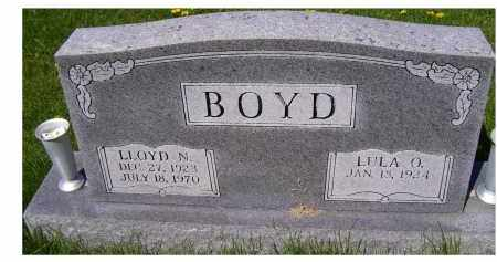 BOYD, LLOYD N. - Adams County, Ohio | LLOYD N. BOYD - Ohio Gravestone Photos