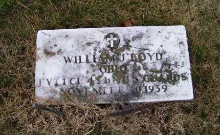 BOYD, WILLIAM J. - Adams County, Ohio | WILLIAM J. BOYD - Ohio Gravestone Photos