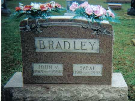 BRADLEY, JOHN V. - Adams County, Ohio | JOHN V. BRADLEY - Ohio Gravestone Photos
