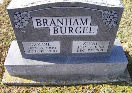 BRANHAM BURGEL, GOLDIE - Adams County, Ohio | GOLDIE BRANHAM BURGEL - Ohio Gravestone Photos